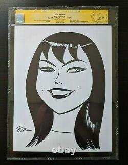 BRUCE TIMM MARY JANE MJ Drawing Sketch Original Art CGC Cert Spider-man SDCC NYC