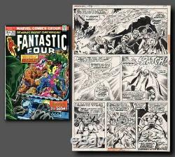 BUCKLER and SINNOTT Fantastic Four #144 Page 27 Original Art (Marvel, 1974)