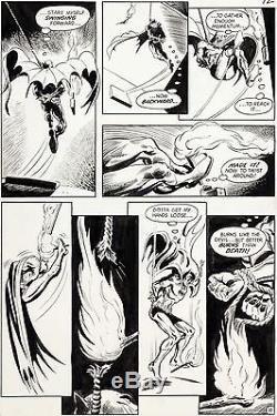 Batman #227 p. 12 Irv Novick Original Comic Art DC Comics