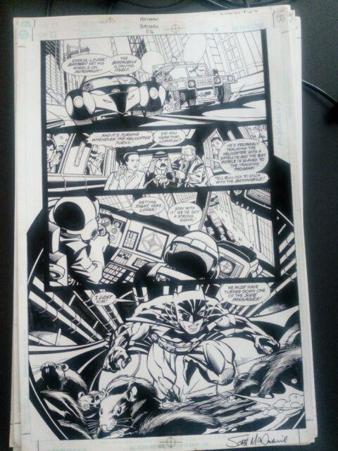 Batman #310 Page 17, Scott Mcdaniel, Very Good Condition