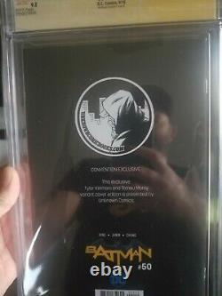Batman 50 Cgc ss 9.8 Artgerm Original Sketch