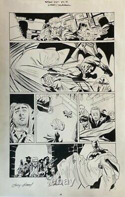 Batman 657 Pg 14 Andy Kubert Grant Morrison Original Art Damian Wayne Son