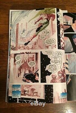 Batman Comic #611 Original Art Page 7! Jim Lee
