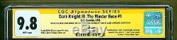 Batman Dark Knight 3 III #1 The Master Race SIGNED & Sketch Frank Miller CGC 9.8