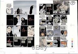 Batman Superman Dark Knight Returns Original Production Art Page F Miller 1986