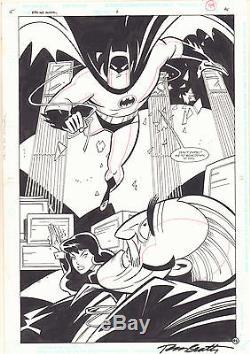 Batman and Robin Adventures Annual #2 p. 45 Zatanna Splash 1997 art by Joe Staton
