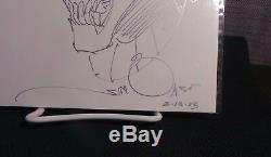 Beta Ray Bill by Walt Simonson 10.5 x 7 Commission Sketch Art in Silver Pen NM+