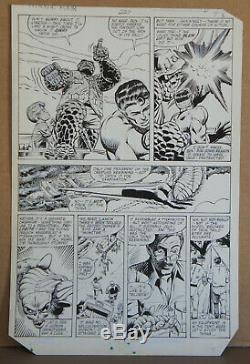 Bill Sienkiewicz Fantastic Four #227 Page 7