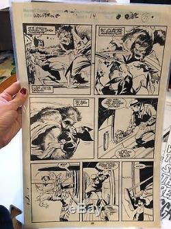 Bill Sienkiewicz / John Buscema original comic book art-Wolverine issue 14 pg 17