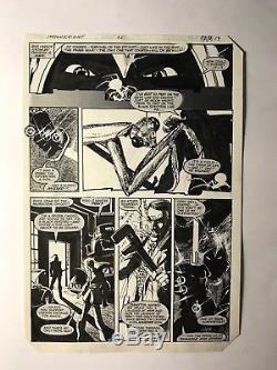 Bill Sienkiewicz original art Moon Knight 25 1982