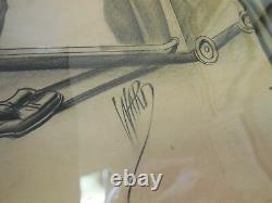 Bill Ward Original Pin Up Art 1950s Good Girl Art