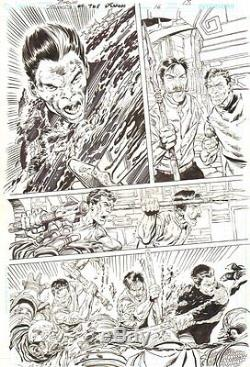 Blood of the Demon #16 p. 13 Gruesome Action 2006 Signed art by John Byrne