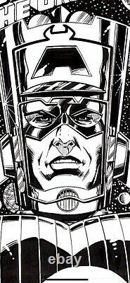 Bob Layton Galactus Super-Villain Classics 1 cover recreation Fantastic 4 Marvel