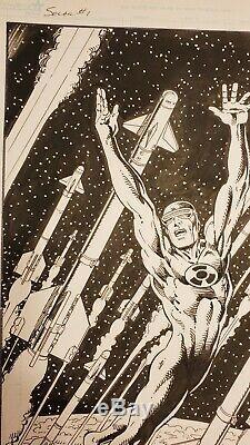 Bob Layton Original cover art. Solar #1 variant