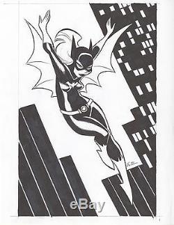 Bruce Timm BATGIRL Sketch DC Comics Original Art BTAS killing joke