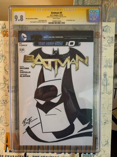 Bruce Timm Batman The Animated Series Sketch Cover