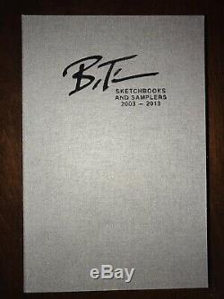 Bruce Timm complete 10 signed sketchbook & sampler collection with custom case