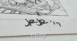 CAPTAIN AMERICA #8 (June 2013) John Romita Jr. Signed Original Art Marvel