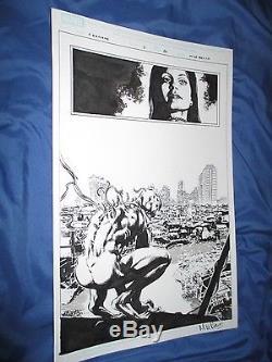 CARNAGE #7 Original Art Page #20 by Mike Perkins (Spiderman/Venom/Marvel)