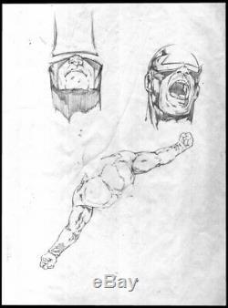 COLLECTION OF 11 ORIGINAL FLEER ULTRA X-MEN ROUGH PENCILS- Tom FLEMing