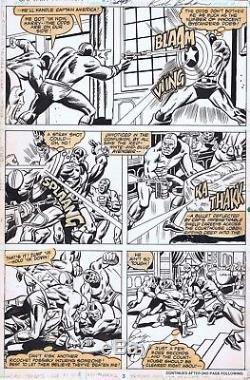 Captain America 243 Page 3 Rich Buckler Cap