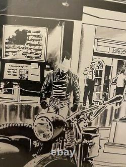 Captain America #27 Page 2 Original Comic Art Steve Epting Winter Soldier Museum