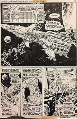 Comic Art Original World's Finest #258 p. 5- Rich Buckler/Romeo Tanghal
