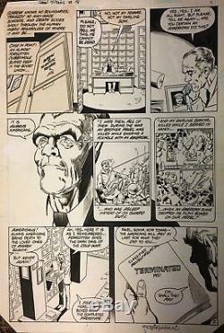 Comic Art OriginalThe New Teen Titans#18 p. 2-George Perez&Romeo Tanghal