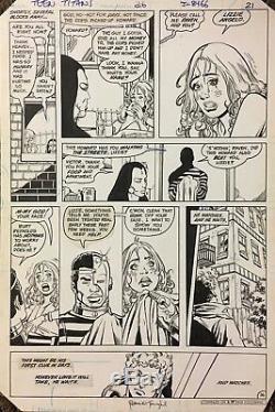 Comic Art OriginalThe New Teen Titans#26 p. 16-GeorgePerez & RomeoTanghal