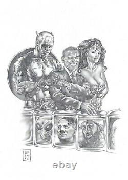 Commission A Piece Of Original Comic Art By Gene Espy! Any Media! Huge