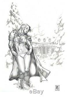 Commission A Piece Of Original Comic Art By Gene Espy! Any Media! Huge Art