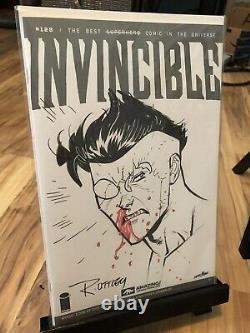Complete run INVINCIBLE 1, 2 thru 144 +most variants & Ottley original art! RARE