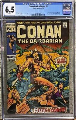Conan The Barbarian 1 Cgc 6.5 Origin & 1st Conan Windsor-smith Art