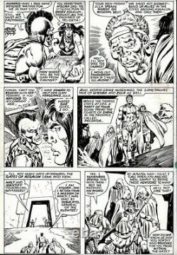 Conan the Barbarian #91 page 22 by John Buscema and Ernie Chan Belit