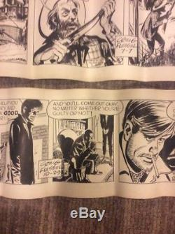 Craig Flessel Original Comic Art Drawings Lot Of 2. 100% Genuine/Authenitc
