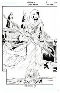 Crossgen Original Art-Mark Alessi's Collection-Sojourn #4 pg 20-Greg Land/Geraci