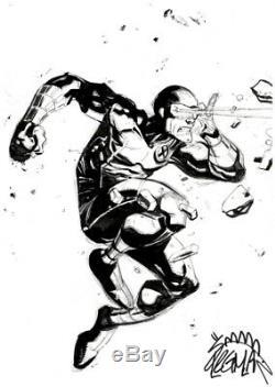 Cyclops by Ryan Stegman Original Art Commission Sketch 9x12