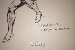 DAREDEVIL FRANK MILLER Original Comic Art Sketch Page Josef Rubinstein