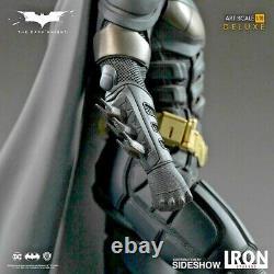 DC Batman Deluxe Dark Knight Iron Studios Art Scale 1/10 Statue New In Stock