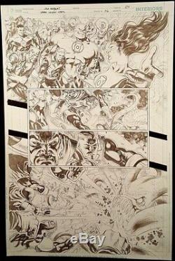 DC Comic GREEN LANTERN #6 Page 4 Published Original Art Herbert SINESTRO GARDNER