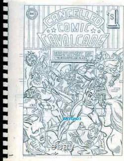 DC Comics Cancelled Comic Cavalcade Volumes #1 And #2 Reprint Set Rare Classic
