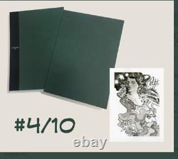 DC Comics Vertigo Sandman Overture Gallery Edition HC 4/10 signed & original art