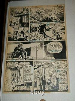 DC Special Series #4 UNEXPECTED Page 8 Original Comic Art 1977