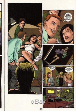 DC Vertigo PREACHER #52 Steve Dillon ORIGINAL ART Garth Ennis 1999 Tulip & Amy
