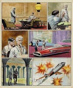 DON LAWRENCE Tavola originale The Trigan Empire The unscrupulous servant 1971