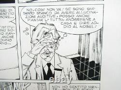 DYLAN DOG # 1 pag. 30 TAVOLA ORIGINALE ANGELO STANO ORIGINAL ART FIRMATA 1986