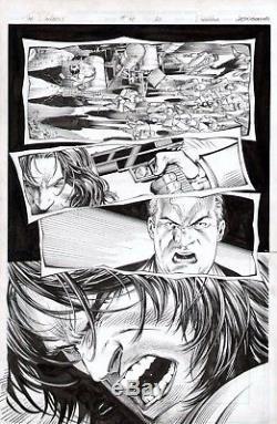 Dale Keown The Darkness #40 Original Comic Art Page Last Issue Orig Artwork