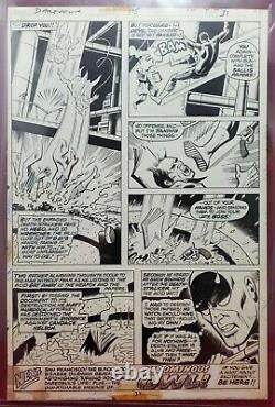 Daredevil #115 Pg. 31 Original Art