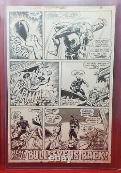 Daredevil #140 Pg. 31 Original Art