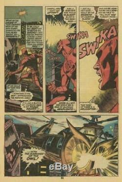Daredevil #80 Marvel 1971 (Original Art) Pg #11 Gene Colan (Signed)/Tom Palmer